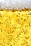 поднимающее вверх пива близкое Стоковые Фото