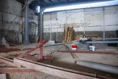 Поднимающее вверх строительной площадки близкое стоковое фото