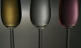 поднимающее вверх шампанского близкое Стоковые Изображения RF