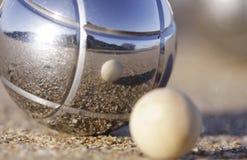 поднимающее вверх boule близкое Стоковое Изображение