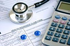 Поднимая медицинская цена стоковая фотография