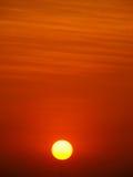 поднимая солнце Стоковые Изображения
