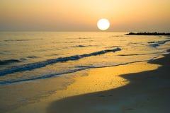 поднимая солнце Стоковое Фото