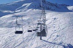 поднимите лыжу Стоковые Изображения
