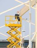 поднимите работника неба Стоковое Фото