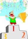 Поднимите трофей бесплатная иллюстрация
