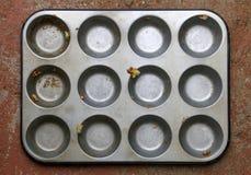 Поднос выпечки стоковое изображение rf