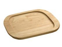 поднос деревянный Стоковое Изображение RF