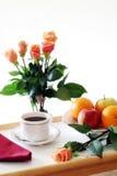 поднос завтрака здоровый Стоковая Фотография RF