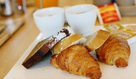 поднос завтрака Стоковые Изображения