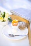 поднос завтрака Стоковое Фото