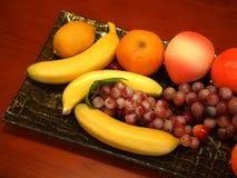 Поднос плодоовощ стоковые фото