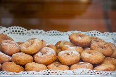 поднос donuts Стоковые Изображения RF