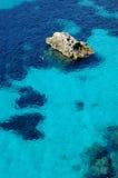 подныривание пляжа тропическое стоковое изображение rf
