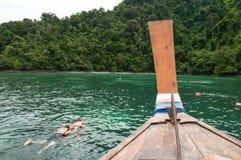 Подныривание Snorkel Стоковые Фото