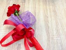 Поднял - цветок Стоковое Фото