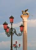 подогнали venetian льва, котор Стоковая Фотография