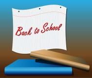 подоприте школу тетради бумажную к Стоковые Фото