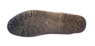 Подошва ботинка изолированная на белизне Стоковое фото RF
