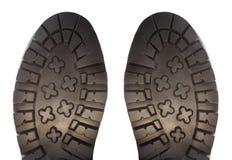 Подошва ботинка изолированная на белизне Стоковые Фотографии RF