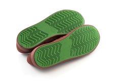 Подошва ботинка на белой предпосылке Стоковые Изображения RF