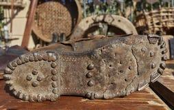 Подошва старого ботинка Стоковое фото RF