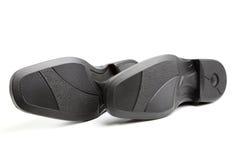 подошвы ботинка пар s человека Стоковые Фотографии RF