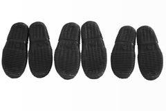 Подошвы ботинок Стоковые Фотографии RF