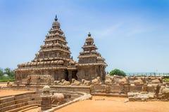 Подпирайте висок на Mahabalipuram, Tamil Nadu, Индии стоковые фото