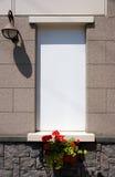 подписывает окно магазина Стоковое Изображение RF