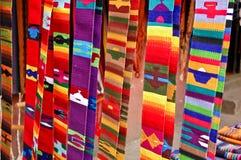подпоясывает сплетенное майяское Стоковое Изображение