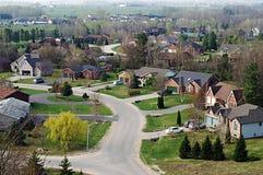 подразделение sprawl Стоковое Изображение RF