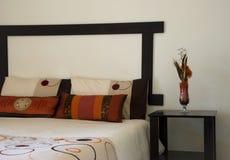 подрезанная спальня стоковая фотография