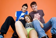 подростки 3 Стоковое фото RF