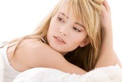 подростковое девушки симпатичное Стоковые Изображения RF