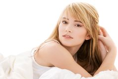 подростковое девушки симпатичное Стоковое фото RF