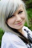 подростковое девушки счастливое стоковые фото