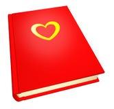 подростковое дневника красное Стоковые Изображения