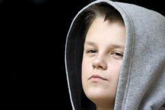 подростковое мальчика уверенно Стоковые Фото