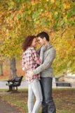 подростковое пар романтичное Стоковое фото RF