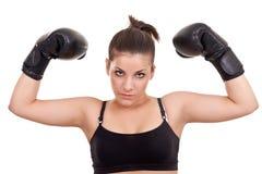 подросток боксера Стоковая Фотография RF