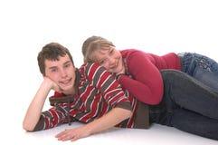 подросток влюбленности Стоковая Фотография RF
