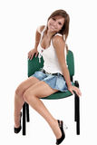 подросток девушки Стоковое фото RF