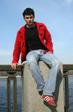 подросток заботливый Стоковые Фотографии RF