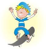 подросток конька Стоковые Фотографии RF