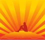 подросток солнца Стоковые Фото