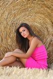 Подросток с платьем Стоковые Фото