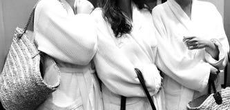 Подруги массажа Стоковое Фото