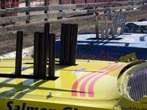 подрывание derby автомобилей Стоковые Изображения RF