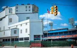 Подрывание Detroits старое Tiger Stadium Стоковое фото RF